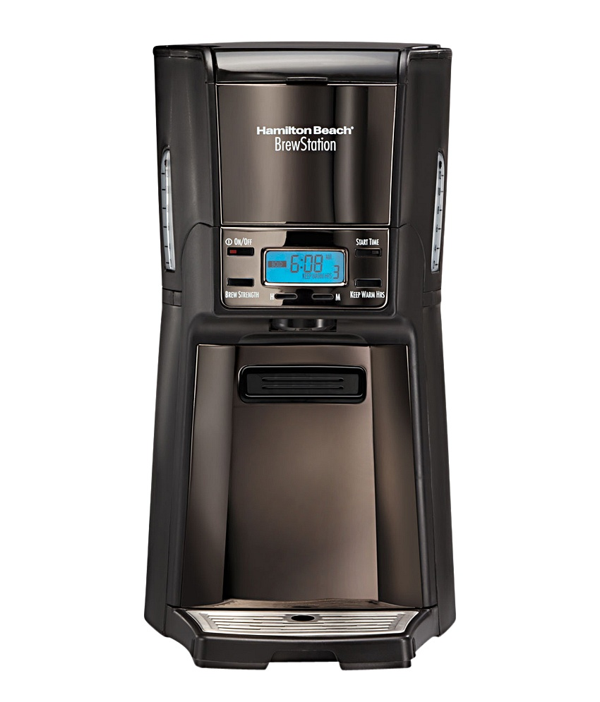 Hamilton Beach BrewStation Summit Black Ice 48467 12 Cups Coffee Maker Image