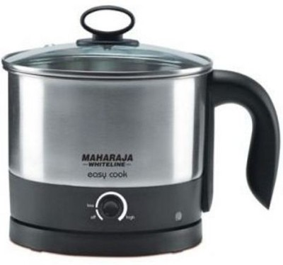 Maharaja Whiteline Easy Cook 1.2 L Electric Kettle Image
