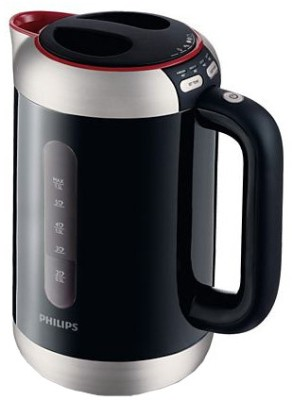Philips Black HD4686 1.5 L Electric Kettle Image