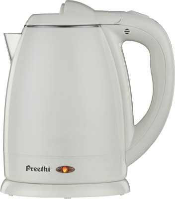 Preethi PREETHI SNOW WHITE 1.5L 1.5 L Electric Kettle Image