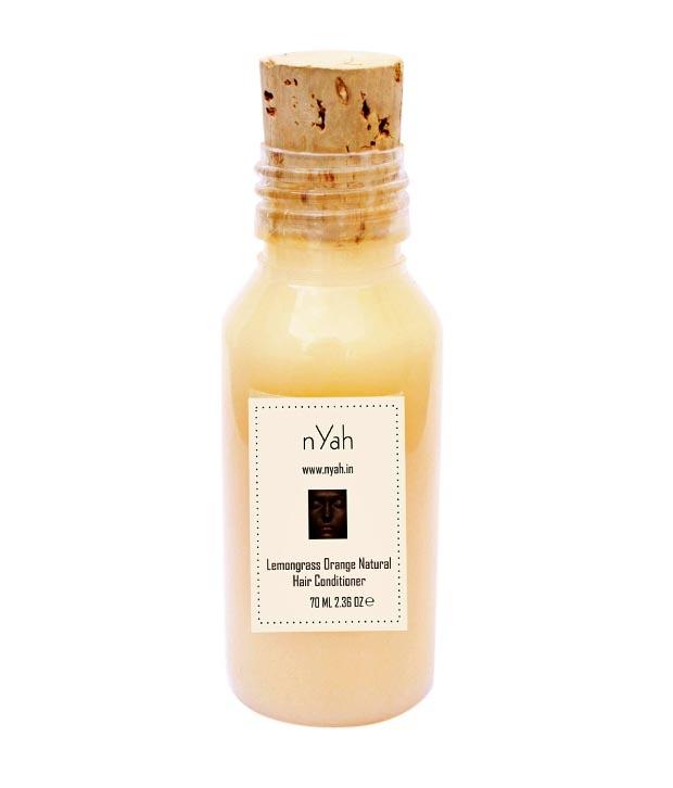 Nyah Orange Lemongrass Hair Conditioner Image