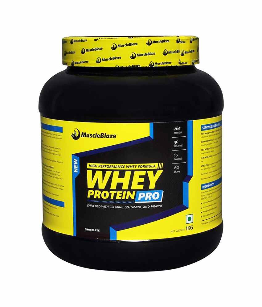 MuscleBlaze Whey Protein Pro Image