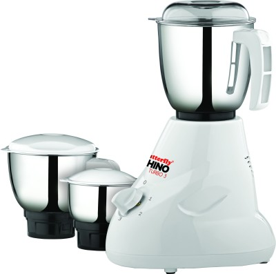 Butterfly Rhino Turbo 3 600 W Mixer Grinder Image