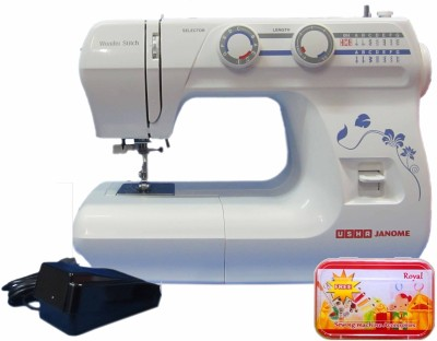 Usha Janome Wonder Stitch (Cd) Electric Sewing Machine Image