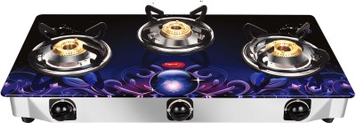 022f239d520 PIGEON SMART PLUS GLASS MANUAL 3 BURNER GAS STOVE Reviews