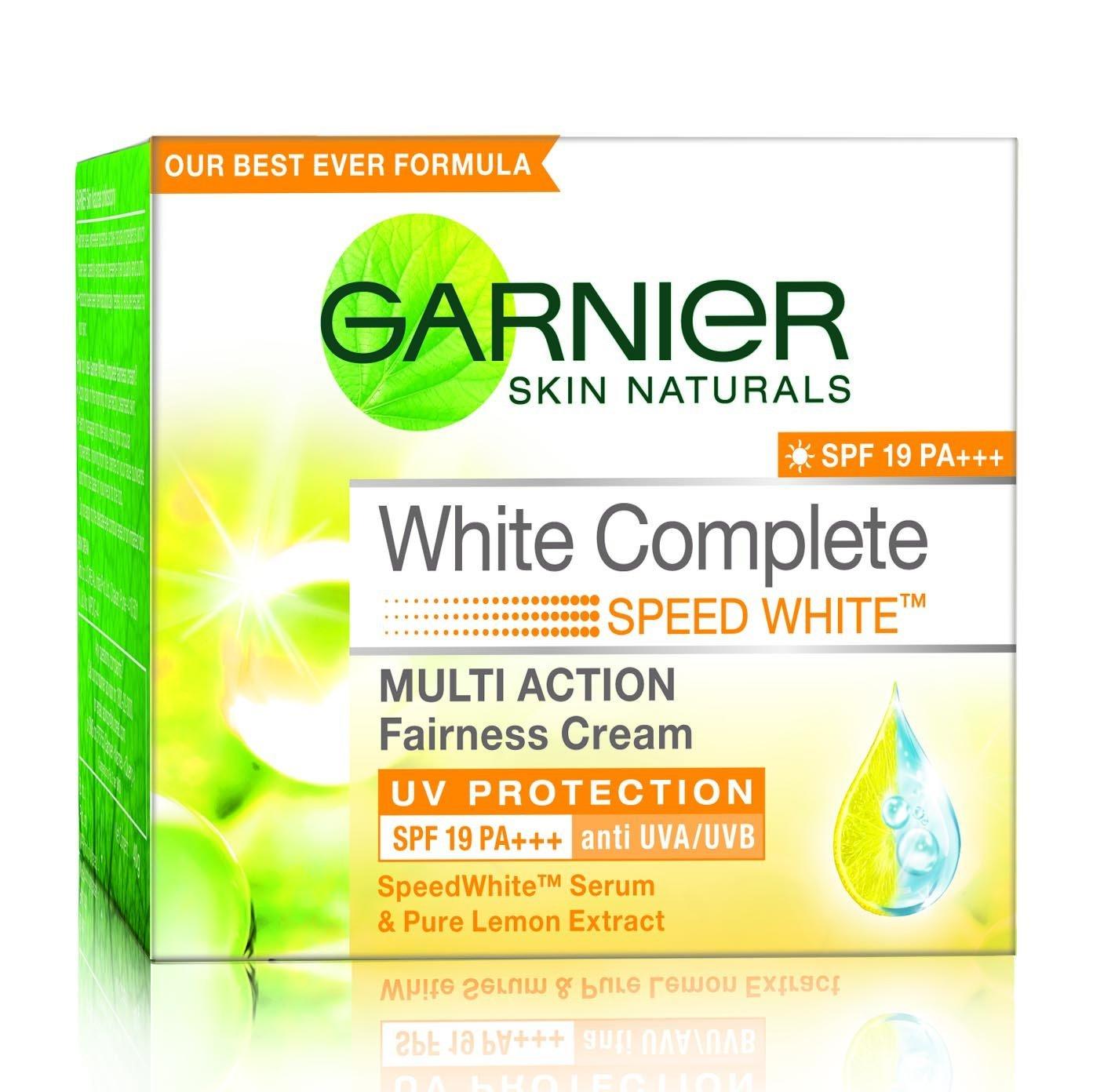 Garnier Skin Naturals White Complete Multi Action Fairness Cream Image