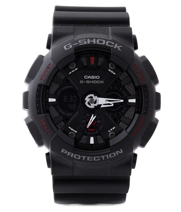 Casio GA120-1A G Shock Analog Digital Watch Image