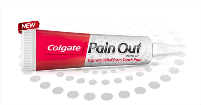 Colgate Pain Out Gel Image