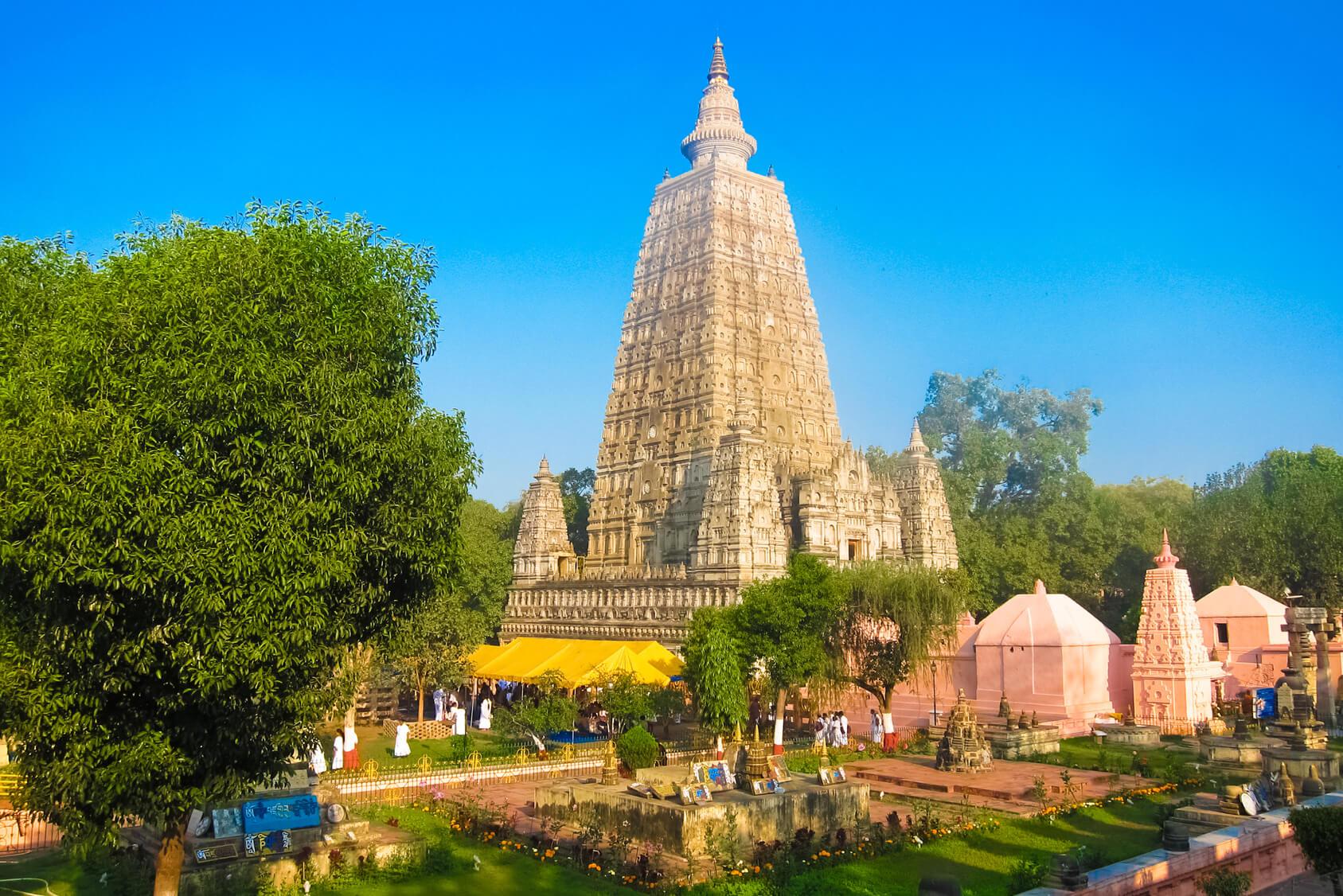 Mahabodhi Temple - Bodhgaya Image