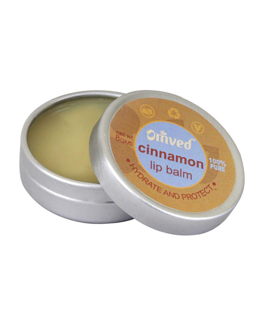 Omved Cinnamon Lip Balm Image