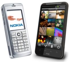Feature Phones vs Smart Phones Image