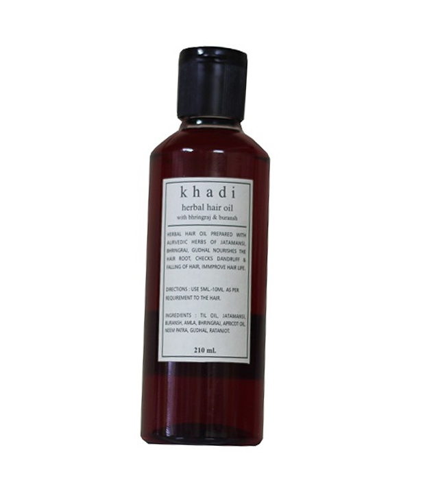 Khadi Bhringraj Herbal Hair Oil Image