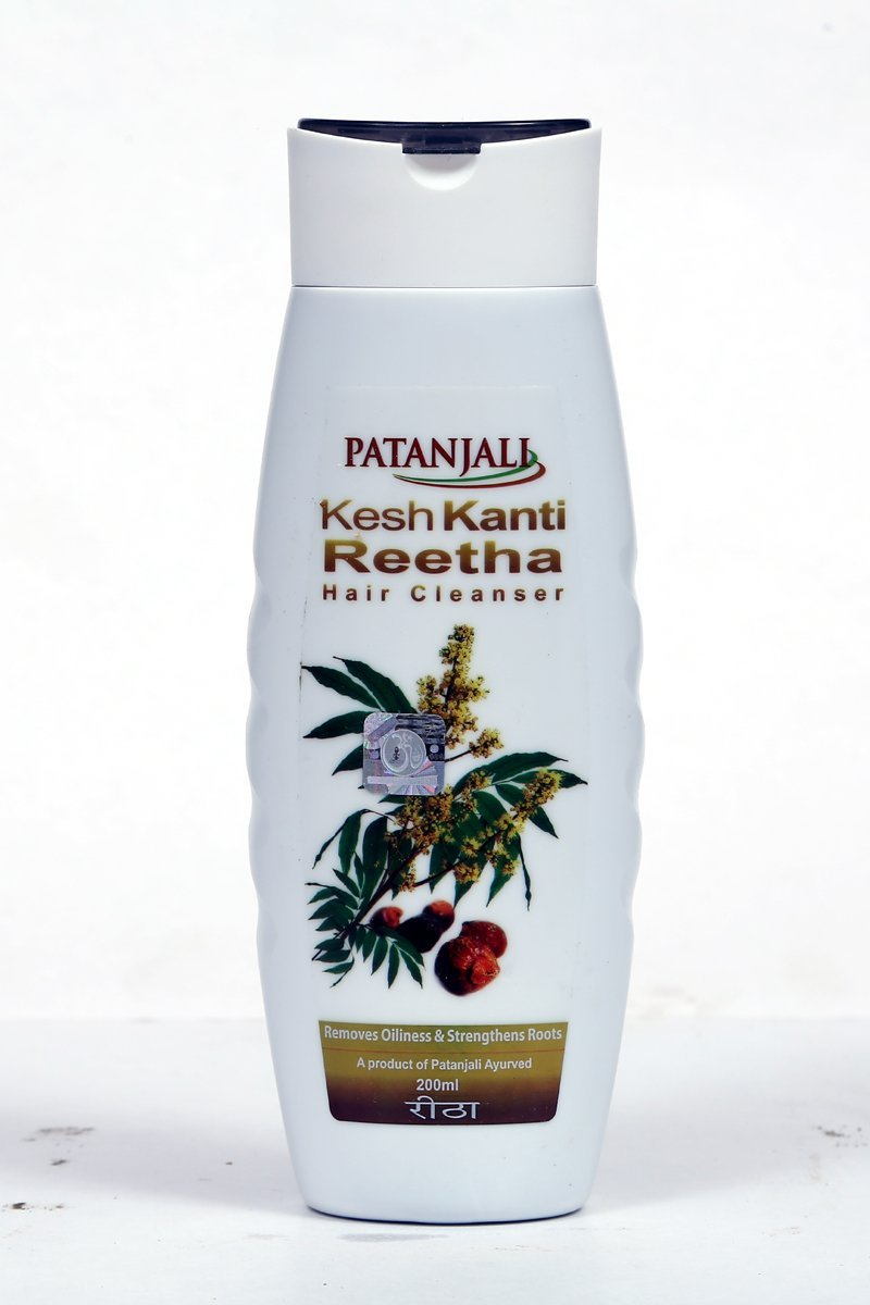 Patanjali Kesh Kanti Reetha Hair Cleanser Shampoo Image
