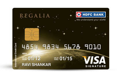 HDFC Regalia Credit Card Image