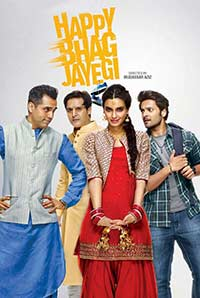 Happy Bhag Jayegi 2016 Hindi DVDRip 700MB ESubs MKV