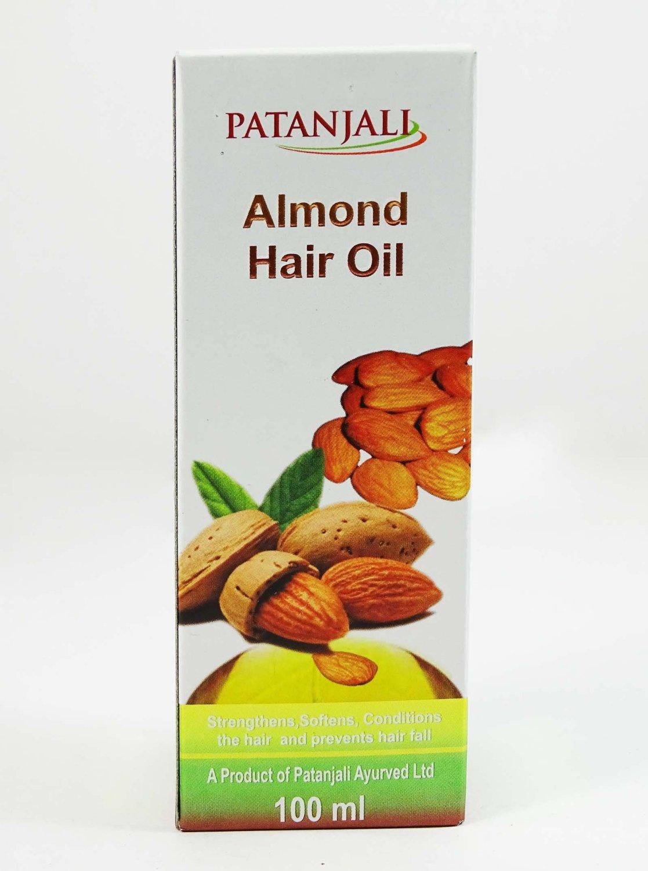 Patanjali Almond Hair Oil Image