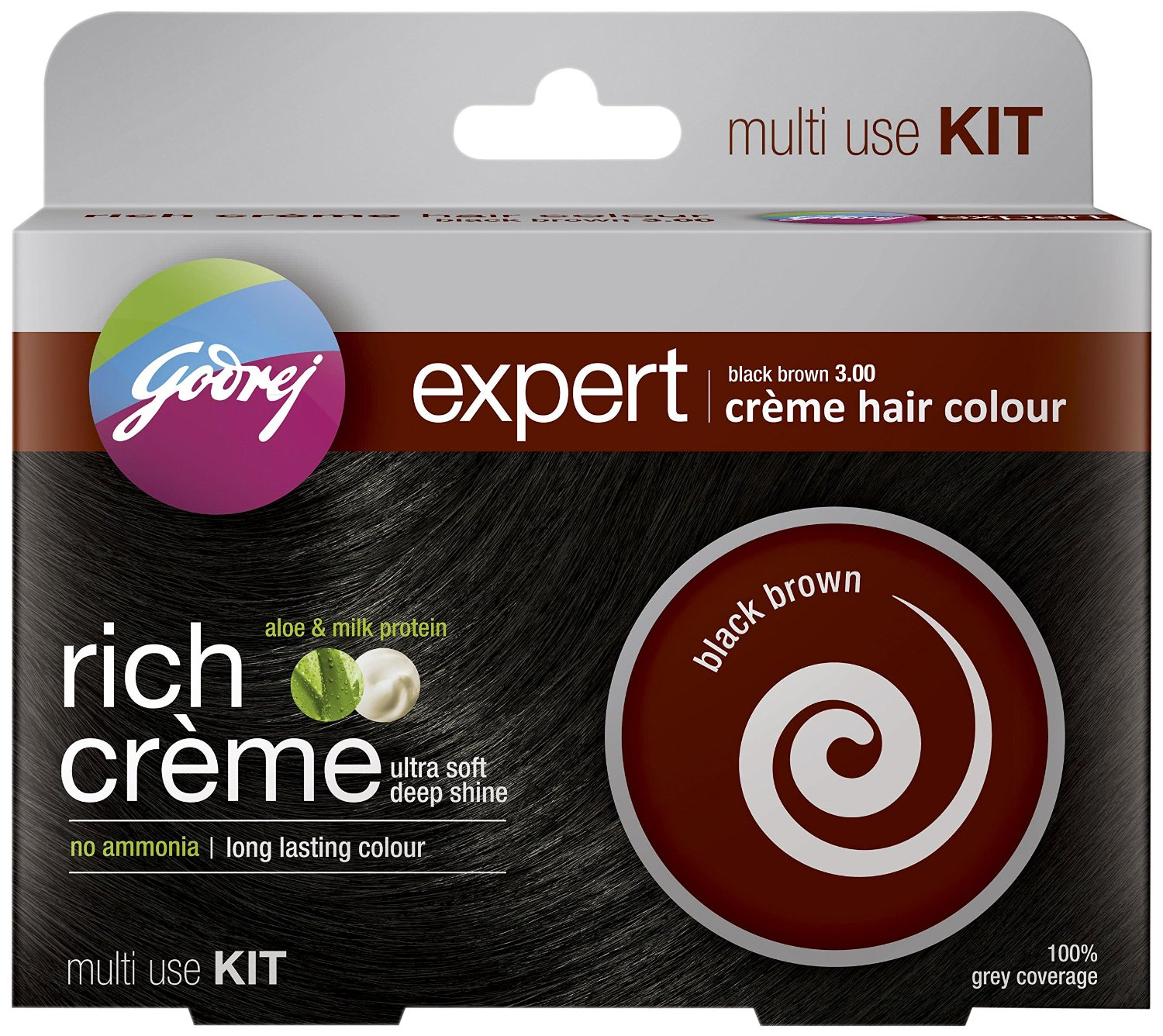 Godrej Expert Rich Creme Hair Colour Image