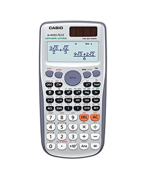 Casio scientific calculator fx 991es plus, reviews, price, rating.