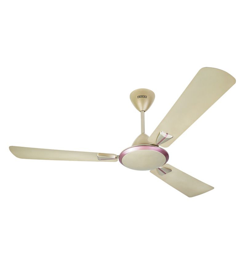 Usha Striker 1200 mm Gold Ivory Ceiling Fan Image