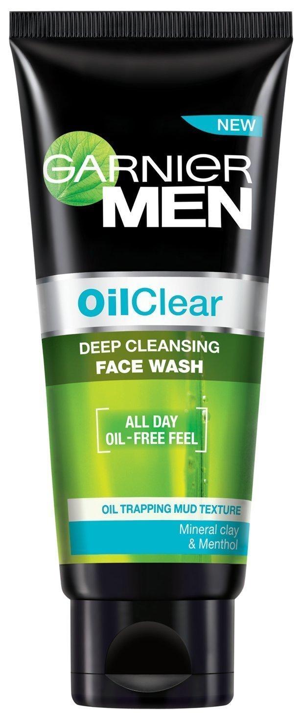 Garnier Men Oil Clear Deep Cleansing Face Wash Image