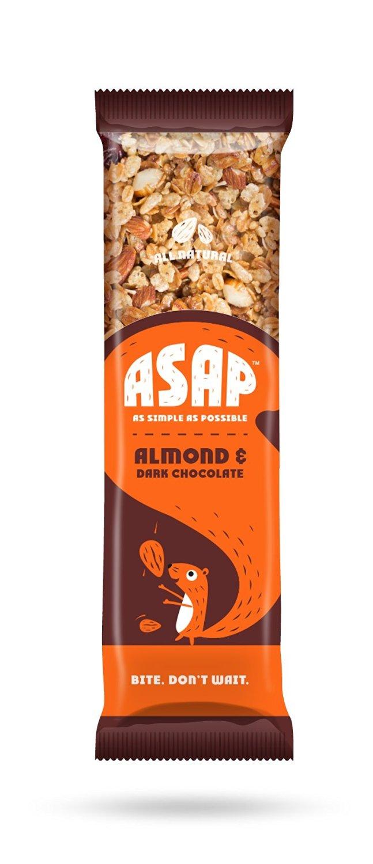 ASAP Almond and Dark Chocolate Granola Bar Image