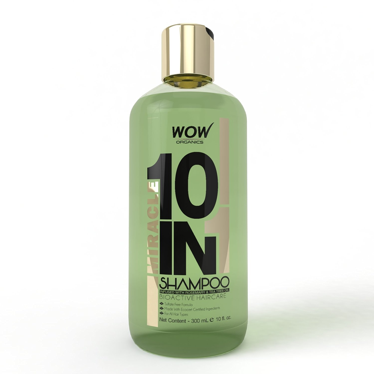 WOW Organics Miracle 10 in 1 Shampoo Image