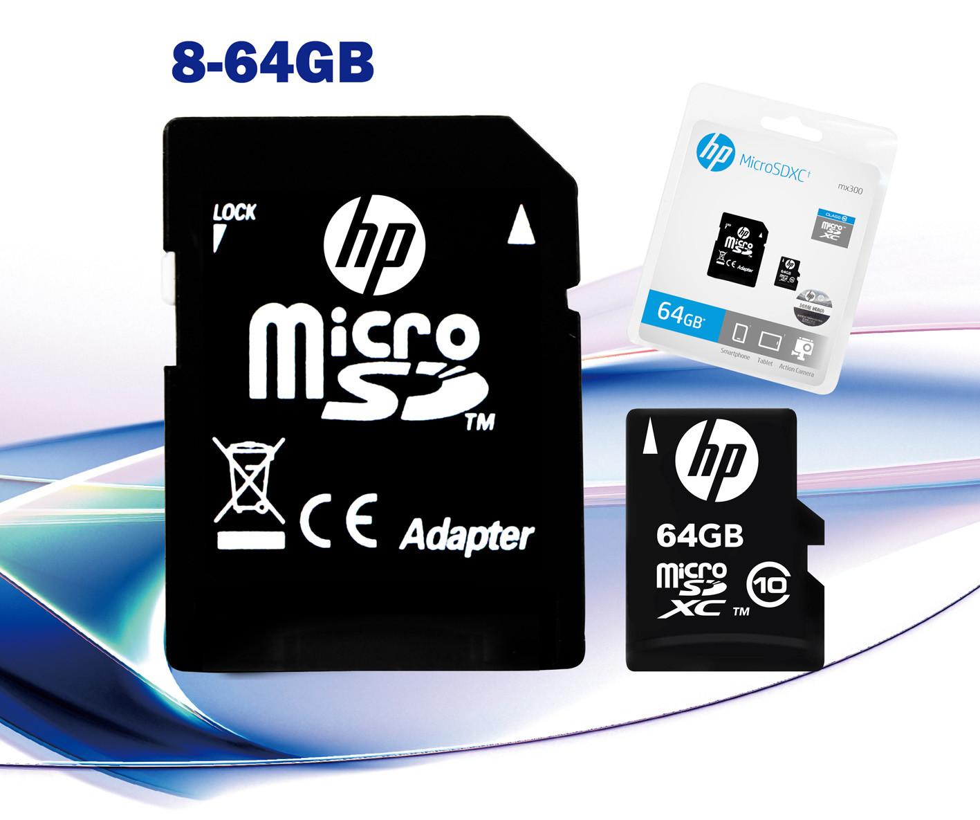 HP Micro SD Cards Image