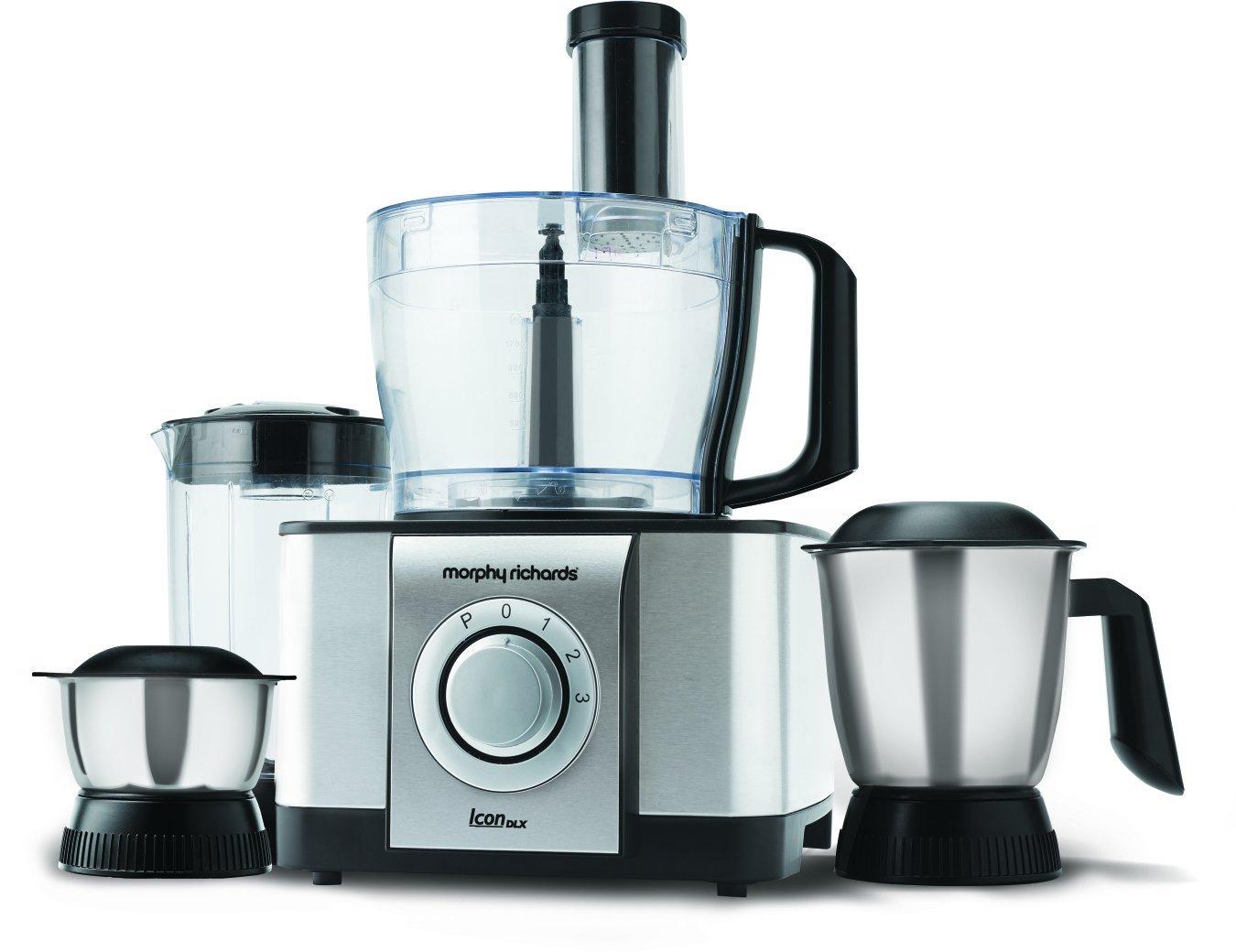 Uncategorized Morphy Richards Kitchen Appliances morphy richards icon dlx food processor reviews image