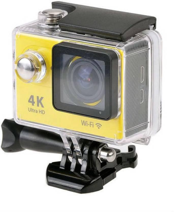 Shrih Powershot Ultra HD 4K WIFI Dual Screen Waterproof Sports & Action Camera Image
