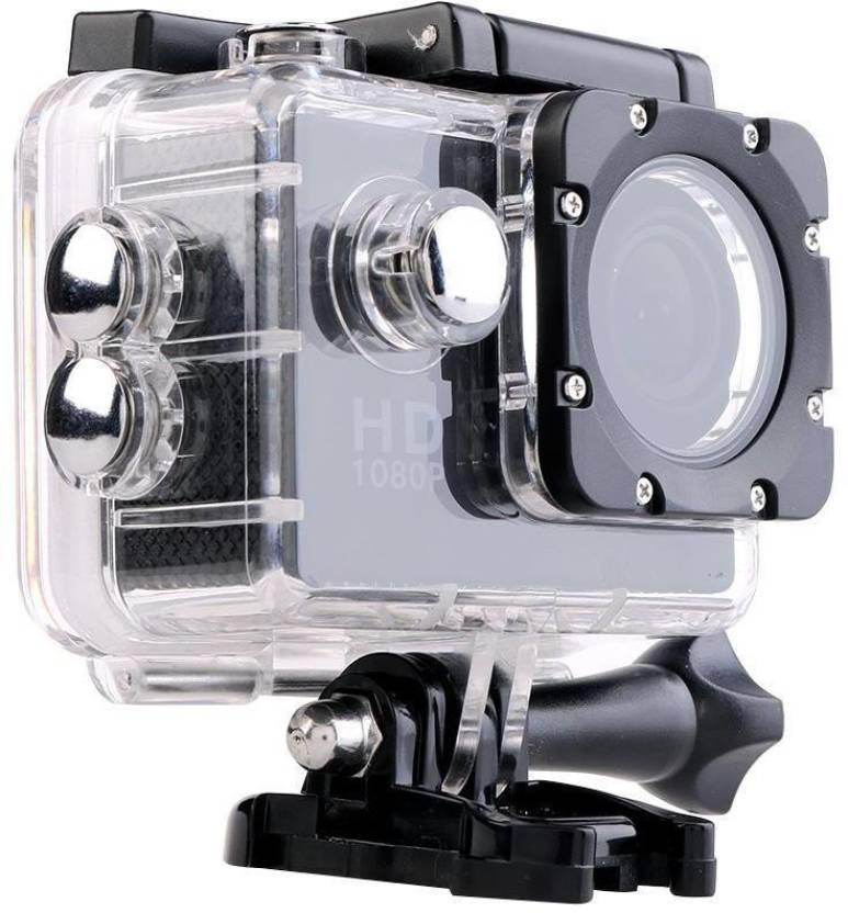 Wonder World Powershot Mini Ultra HD 1080P DV Sports Recorder Action Camcorder Waterproof Cam Holder Sports & Action Camera Image