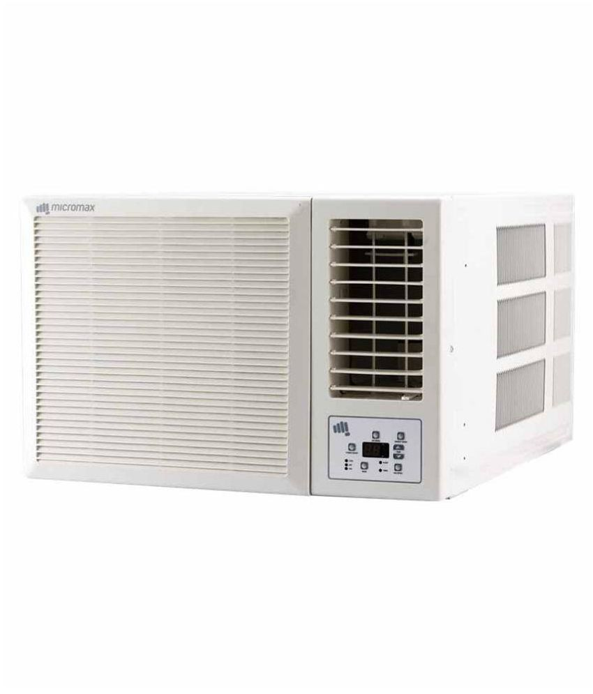 Micromax 1 5 ton 3 star acw18ed3cs01whi window ac photos for 1 ton window ac price in kolkata