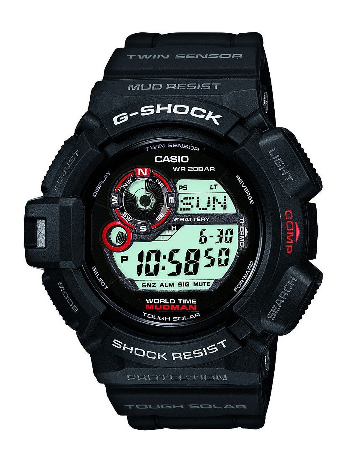 Casio G Shock G9300 Digital Watch Image