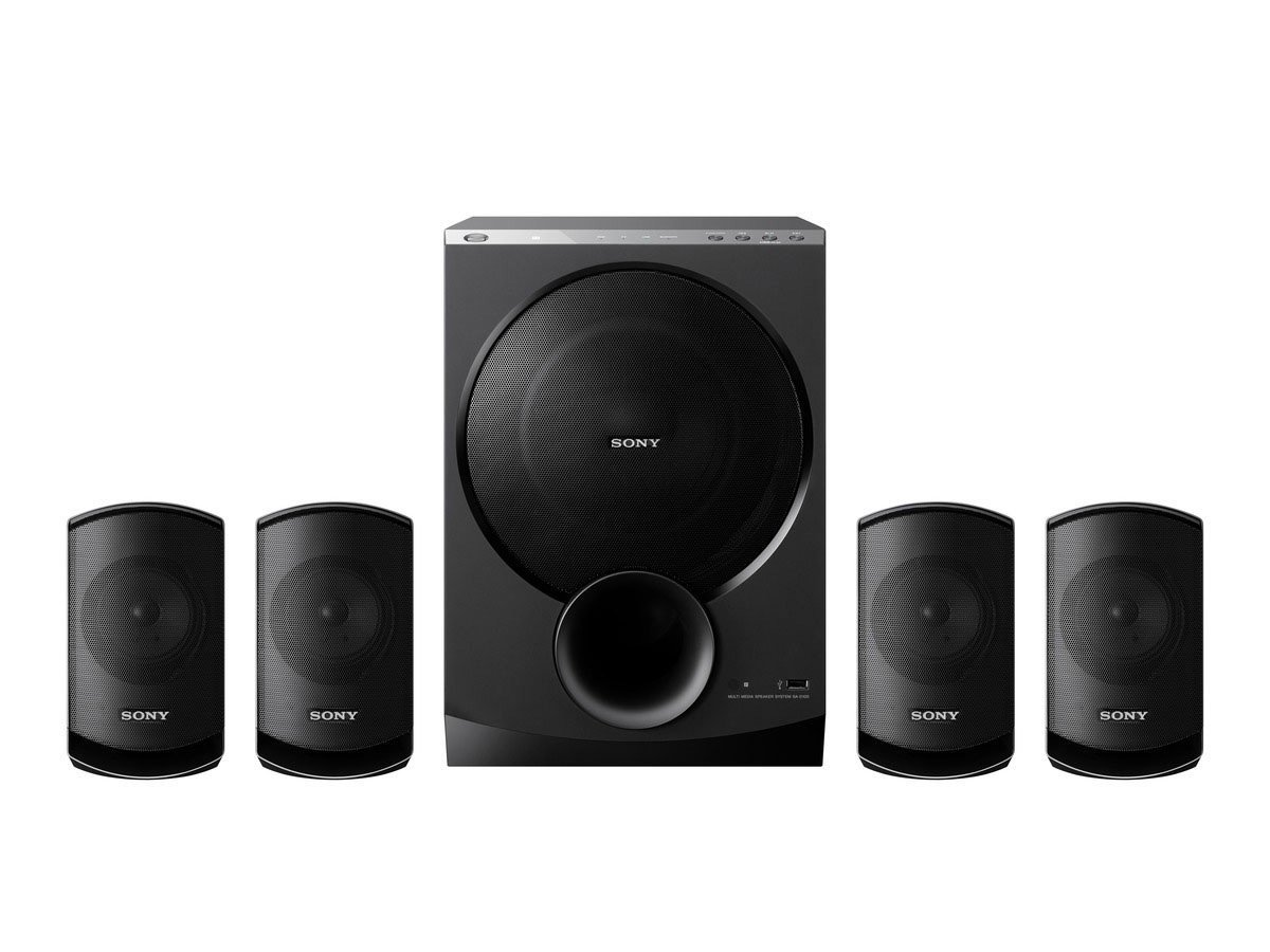 SONY SA-D100 4.1 MULTIMEDIA SPEAKERS Review, SONY SA-D100 ...