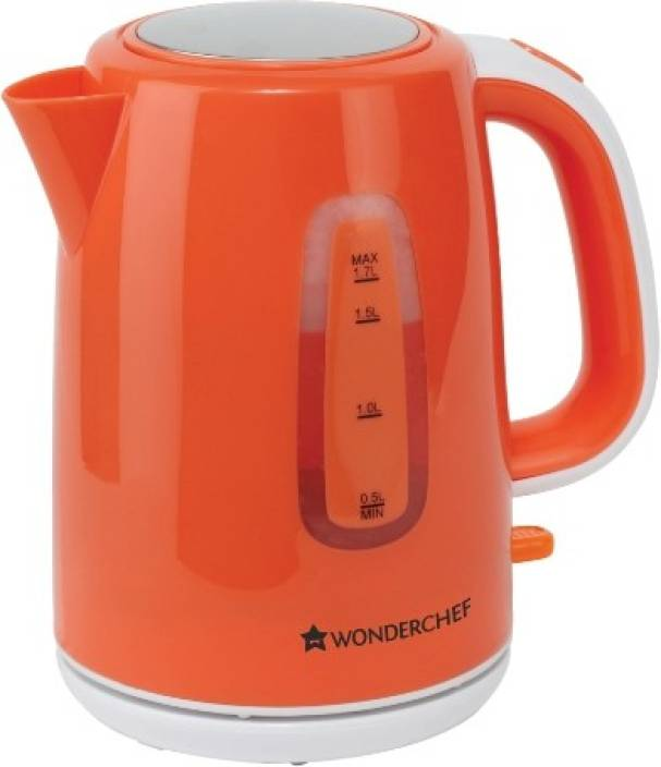 Wonder World 1.7L Stainless Steel Quick Heating Electric Kettle Image