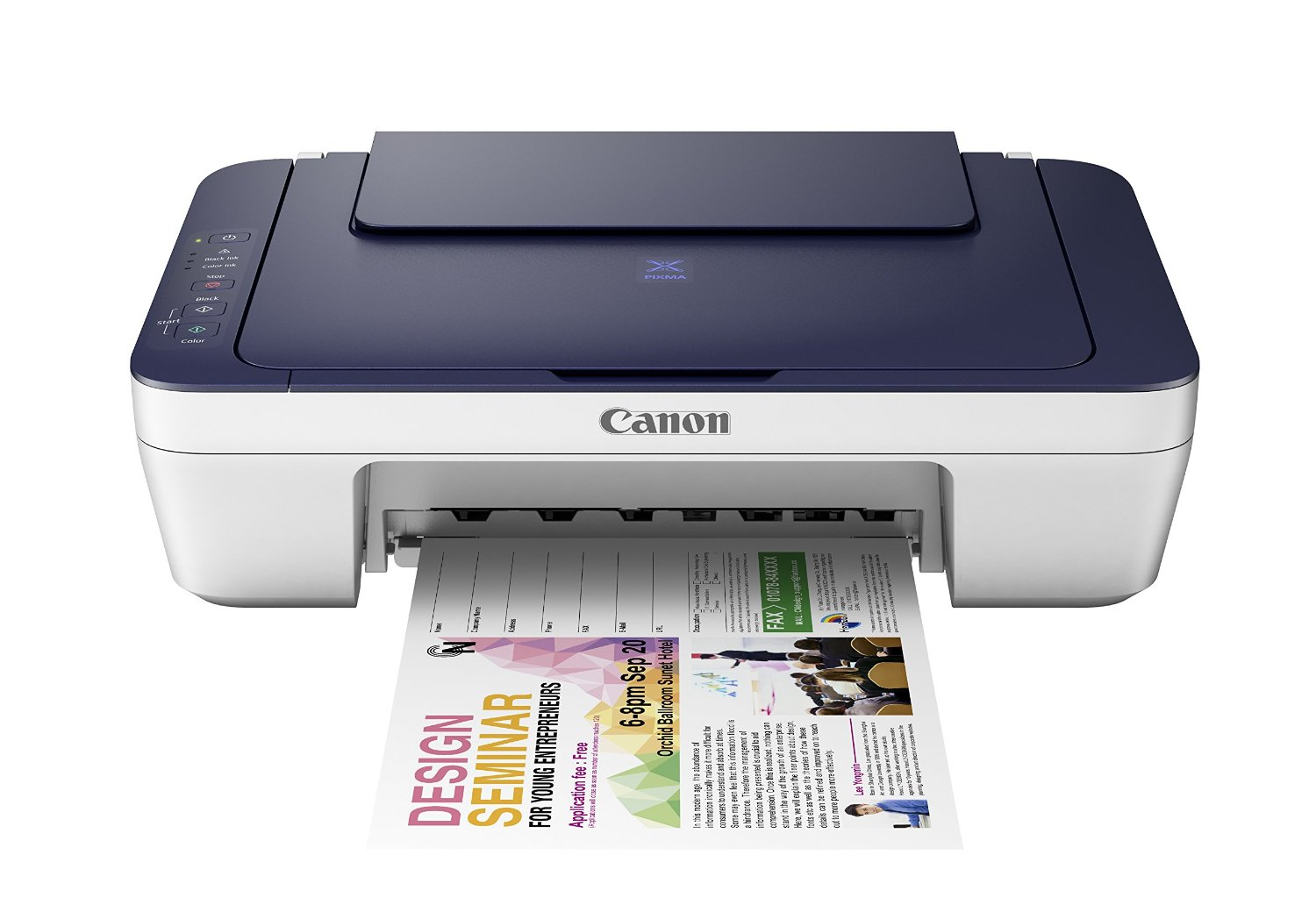 Canon Pixma MG2577s All-In-One InkJet Printer Image