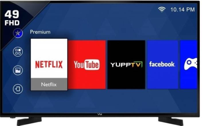 Vu 124cm (49) Full HD Smart LED TV Image
