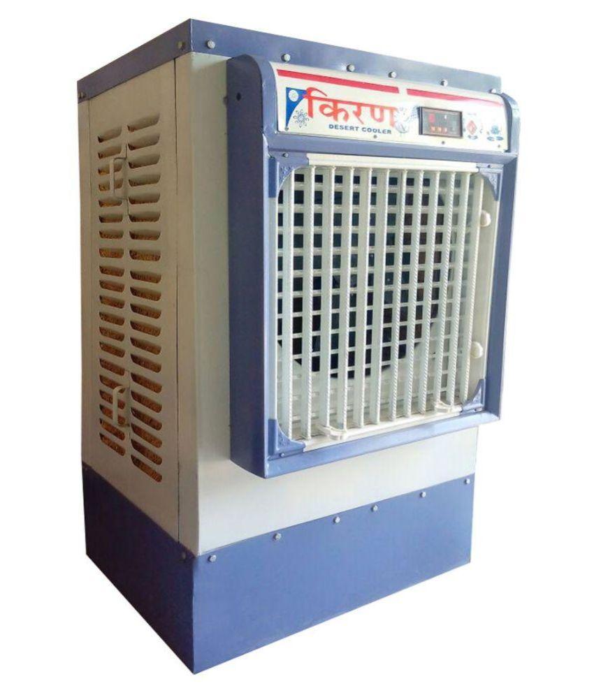 Steel air cooler white vanity unit