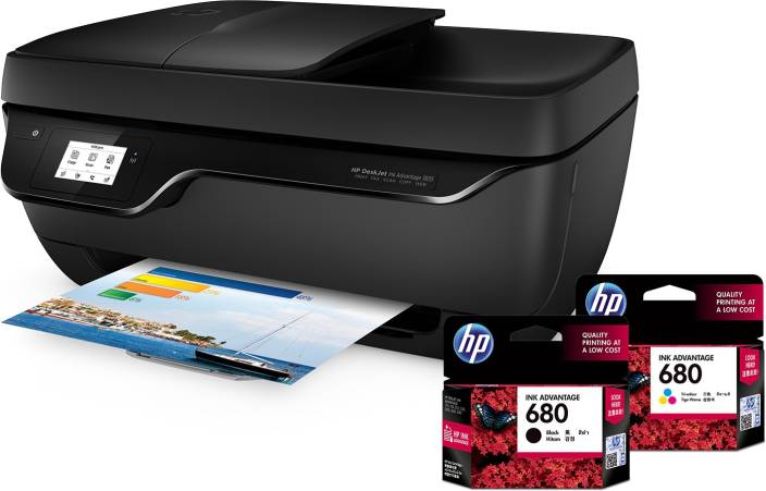 Not good printer quality  - HP DESKJET INK ADVANTAGE 3835
