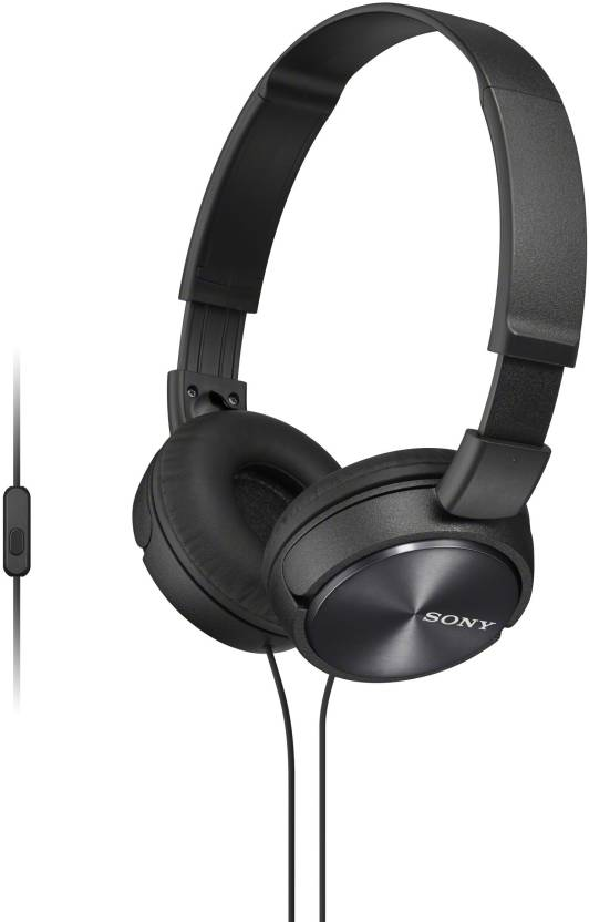 Sony MDR-ZX310APB Wired Headset With Mic Image