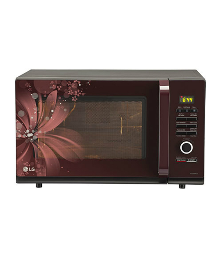 Lg Kitchen Appliances Reviews #32: LG 32 Ltrs MC3286BRUM Convection Microwave Oven Image. Write Your Review