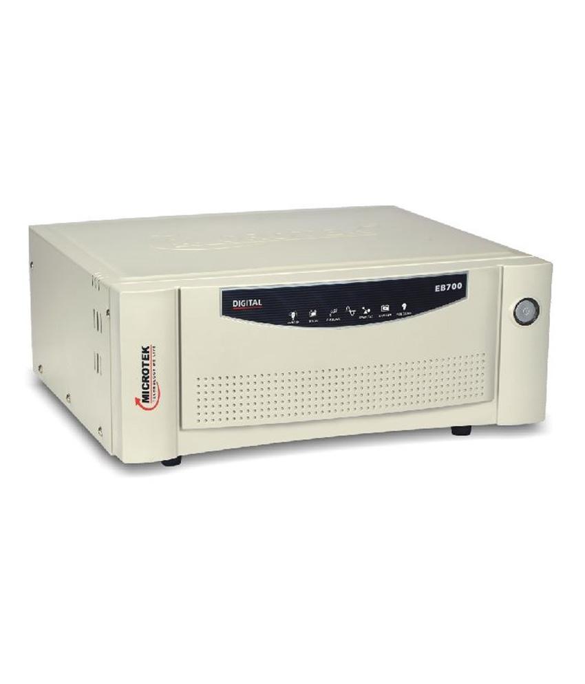 Microtek Upseb 700Va Digital Square Wave Inverter Image