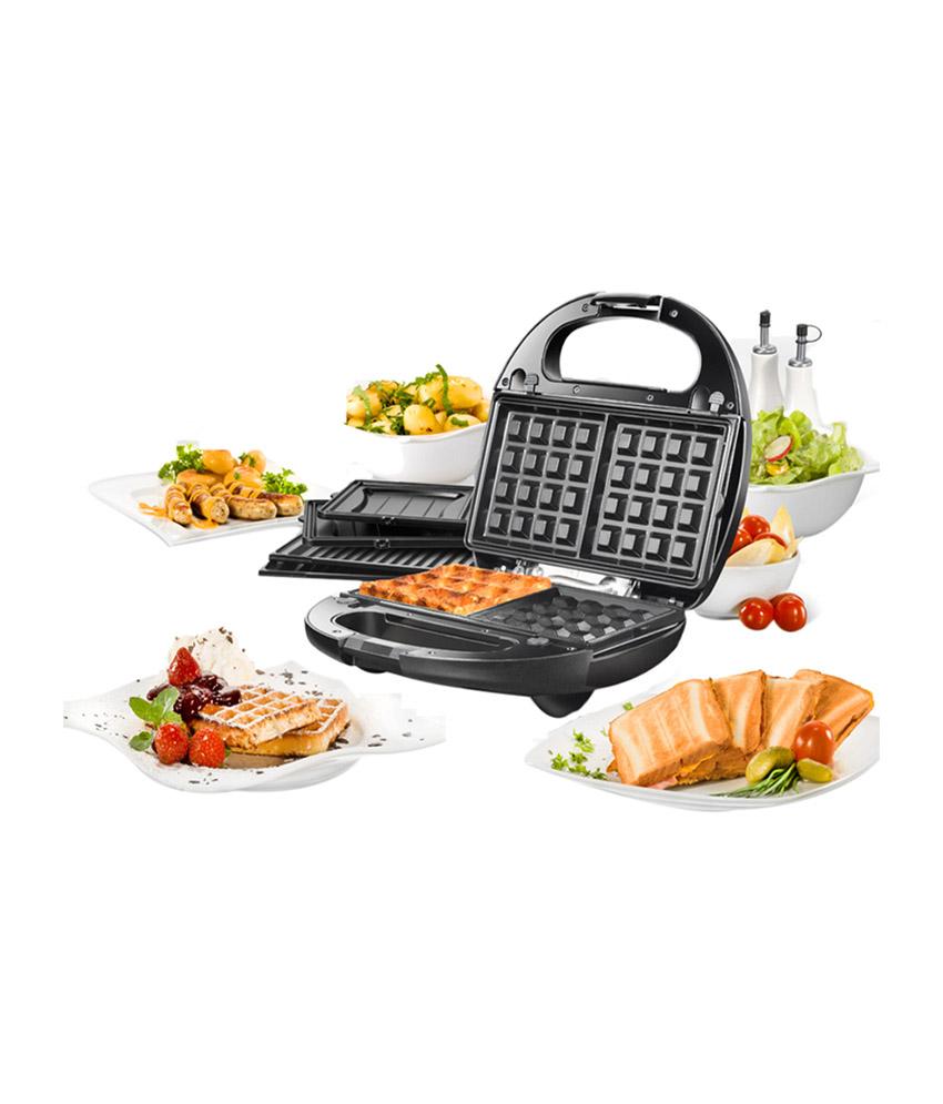 Nova 3 In 1 Snack Magic Nsm 2403 4 4 Slices Sandwich Maker Image