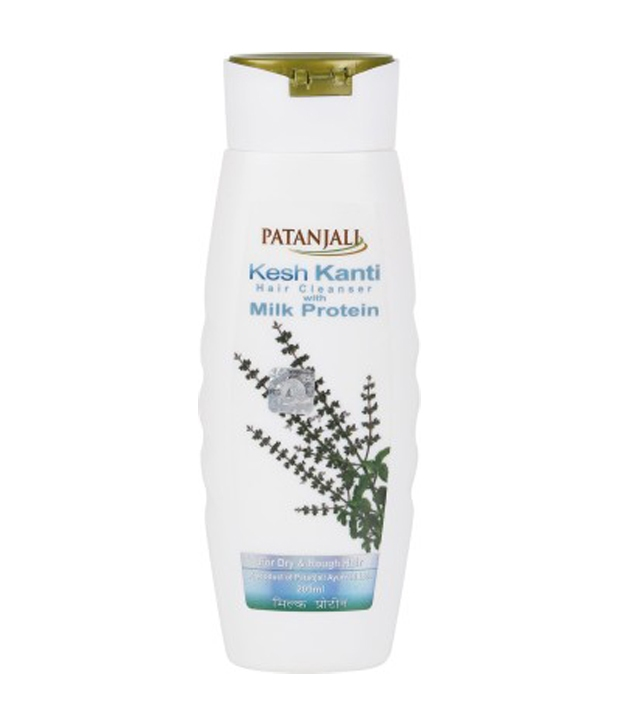 66bf6c733 PATANJALI KESH KANTI MILK PROTEIN HAIR CLEANSER SHAMPOO Reviews ...