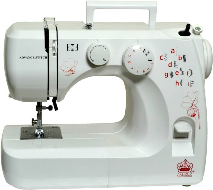 Rex Advance Stitch Embroidery Sewing Machine Image
