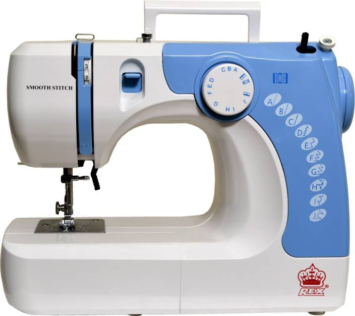 Rex Smooth Stitch Embroidery Sewing Machine Image