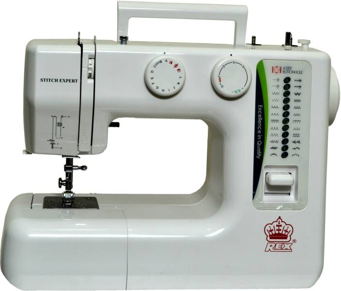 Rex Stitch Expert Embroidery Sewing Machine Image