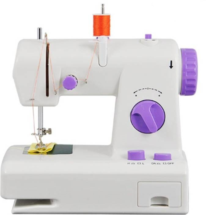 Shopper52 New Double Thread FHSM-208 - DTHRSEWM001 Electric Sewing Machine Image