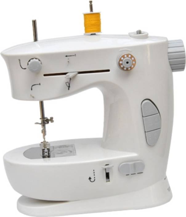 Shopper52 New Double Thread Speed FHSM-338 DTHESEWM Electric Sewing Machine Image