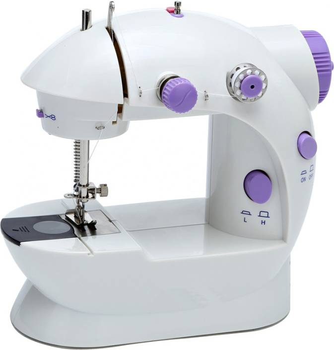 Shrih Multifunctional Double Stitches Electric Sewing Machine Image