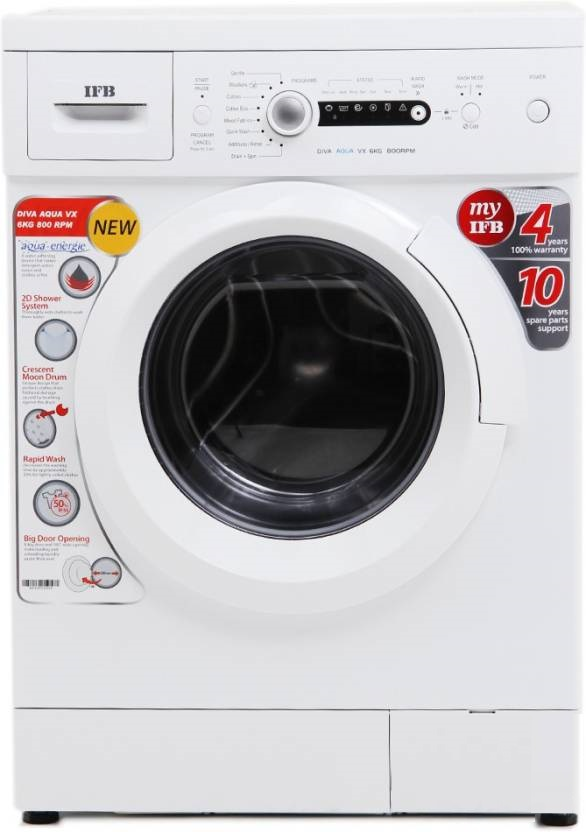 IFB 6 kg Fully Automatic Front Load Washing Machine (Diva Aqua VX) Image